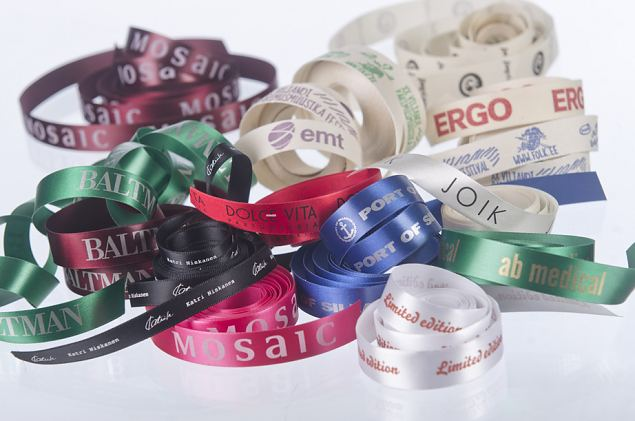 Personalized Printed Satin Ribbon